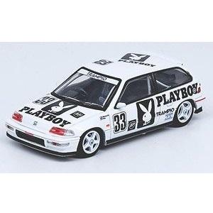 【予約受付中】(INNO MODELS)Honda シビック EF9 #33 `Team Racing Forum` JTC 1991(9月発売)