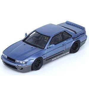 【予約受付中】(INNO MODELS)Nissan シルビア S13 PANDEM ROCKET BUNNY V1 ブルー/グレーメタリック(2月発売)