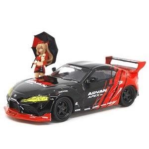 【予約受付中】(POP RACE)PANDEM GR SUPRA ADVAN LIVERY & レースクイーン セット(9月発売)