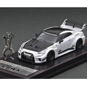 【予約受付中】(ignition model)LB-Silhouette WORKS GT Nissan 35GT-RR Pearl White With Mr.Kato ※メタルフィギュア付(8月発売)