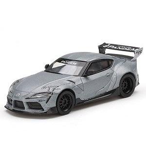 【予約受付中】(MINI GT)Pandem GR スープラ V1.0 マットグレー(左右ハンドル)(9月発売)