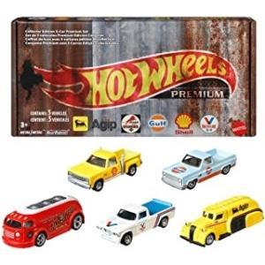 【明日発売】(Hot Wheels)プレミアムボックス – Vintage Oil(7/24発売)