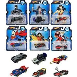 【予約受付中】(Hot Wheels)スタジオ キャラクターカー アソート - DC(10/16発売)