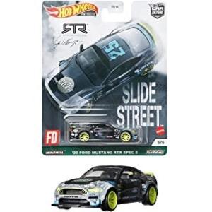 【明日発売】(Hot Wheels)カーカルチャー スライドストリート '20 フォード・マスタング RTR スペック 5(9/25発売)