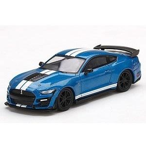 【予約受付中】(MINI GT)フォード マスタング シェルビー GT500 フォード パフォーマンス ブルー (左右ハンドル)(12月発売)
