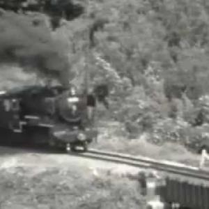 【蒸気機関車】 田川線 クンロク石炭輸送風景 油須原付近 9600形