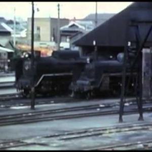 蒸気機関車若松機関区のC57(SL)