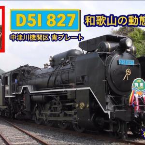 D51 827 有田川鉄道公園 キハ58003乗車体験 2019.5【4K】