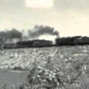 昭和49年 蒸気機関車 9600形 珍しい重連・バック 後藤寺線