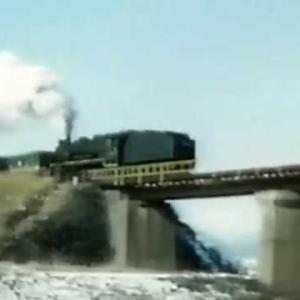 国鉄後藤寺線9600型蒸気機関車01 1973年12月25日 音あり