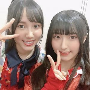 AKB48 TeamTP Koharu(刘晓晴)からイチゴちゃん(叶知恩)へ応援メッセージ