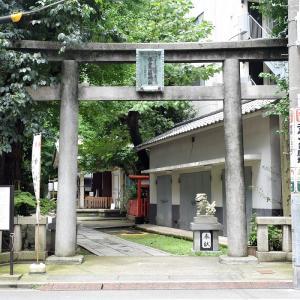 銀杏岡八幡神社(東京都台東区)の写真と御朱印