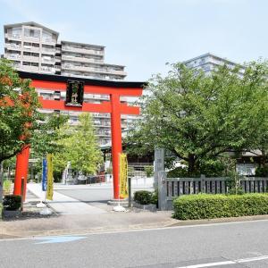 亀戸浅間神社(東京都江東区)の写真と御朱印