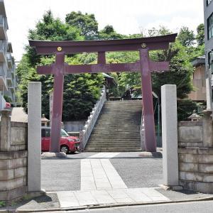 白金氷川神社(東京都港区)の写真と御朱印