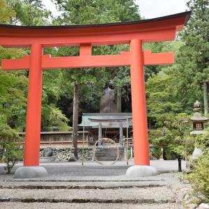 丹生川上神社下社(奈良県下市町)の写真と御朱印①