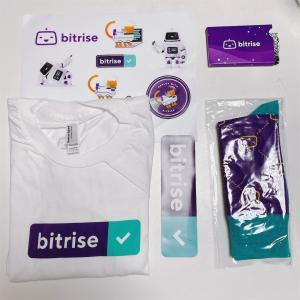 Bitriseの記事を書いたらBitriseグッズが送られてきた!