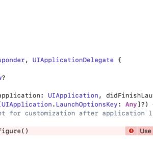 最新のFirebase SDKをインストールすると「Use of unresolved identifier 'FirebaseApp'」エラーが発生する