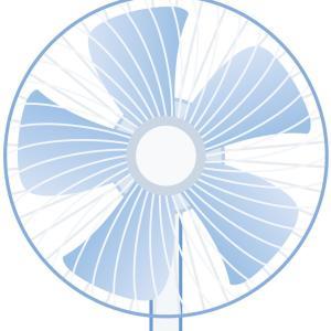 暑さ対策で扇風機必要