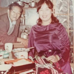 祖父と叔母、私と母