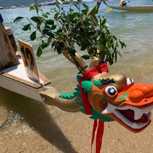 端午節、赤柱でドラゴンボートの大会に出場してきました!