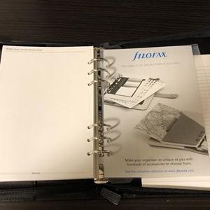 ファイロファックス(FIROFAX)A5サイズのジッパータイプをなぜ選んだか?Part5 完結編