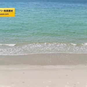 4K動画素材(著作権フリー/商用利用可能)海25