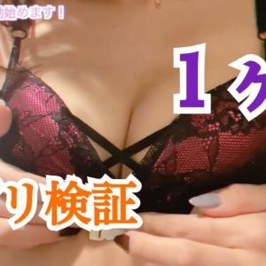 【バストアップ】サプリ検証1ヶ月 元キャバ嬢