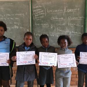 南アフリカ共和国 ~子供の成長が見られたとき~
