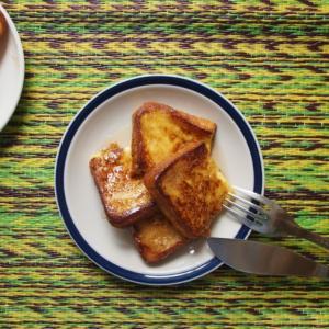 フレンチトーストの朝ごはん