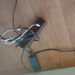 ケーブル収納ボックスでストレス減