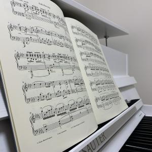 ピアノ始めてもうすぐ2年、妻の様子