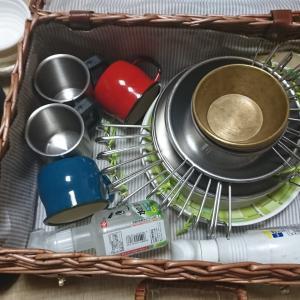 食器とかの収納ケースをソフトコンテナに見直したい