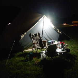 実は初めての完ソロキャンプでした in 桃太郎公園