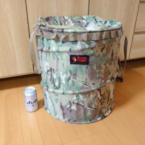 【キャンプ用ゴミ箱を買い替え】オレゴニアンキャンパー トラッシュボックス