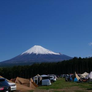 富士見の丘オートキャンプ場の紹介【富士山も夜景も堪能】