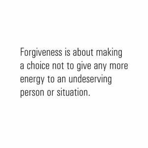 許すということ
