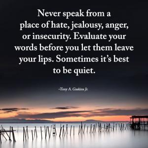 口から出た言葉は取り消せない