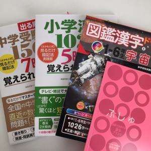 ◇効率を考え学習時間を削る☆漢字を後回しに