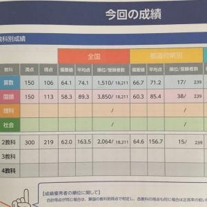 ◇全国統一小学生テスト結果 算数編☆診断分析が凄い!