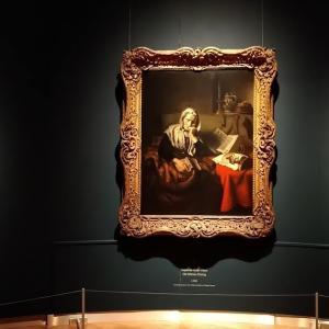 オランダ17世紀版「家政婦は見た」、ニコラス・マース~Nicolaes Maes @ Mauritshuis in Den Haag