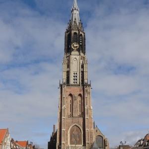 オランダ王室と所縁の深い、デルフトの新教会