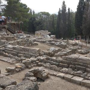 古代の迷宮、クノッソス宮殿~The Palace of Knossos in Crete【ギリシャ2019 #9】