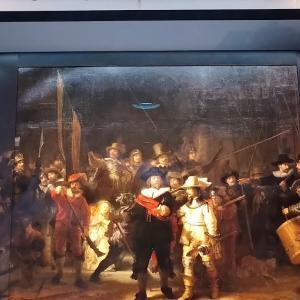 レンブラント《夜警》がAIの技術を使って本来の姿に~The Night Watch by Rembrandt: The Missing Pieces