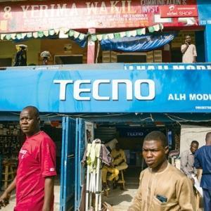 日本では無名、アフリカでは定番の携帯電話ブランド