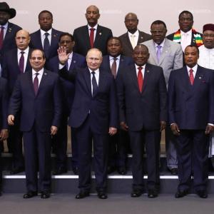 ロシア、アフリカに対する影響力を拡大中
