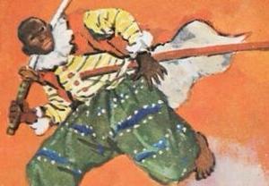 日本初の外国人サムライはアフリカ人