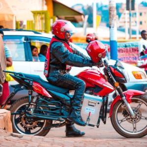 ルワンダはクリーンなバイクタクシーを拡充へ(アフリカニュース)
