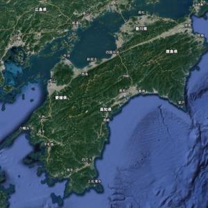 四国島のフライフィッシング