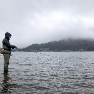 止水スペイ始め Part 2:今季初の中禅寺湖