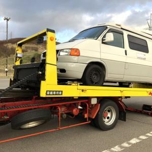 VWキャンパー戻り旅 1日目: 十和田湖でのんびり